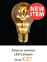 Diverse Nieuwe LED Lampen