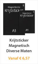 Krijtstickers Magnetisch