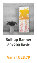 Roll-up Banner 80x200 Basic